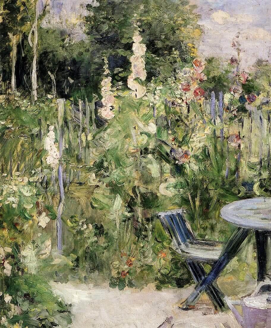 """""""Stockrosor"""" av Berthe Morisot"""